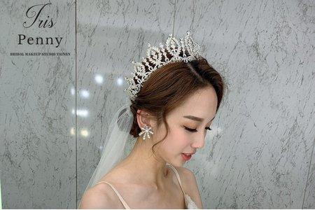 韓系簡約的盤髮造型推薦❤️