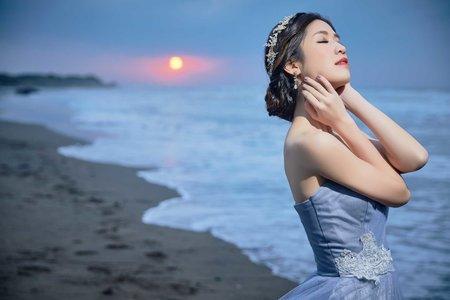台南新秘JUDY老師|浪漫盤髮造型