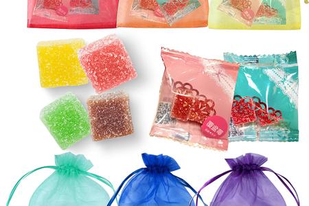 六色彩虹喜糖紗袋-祝福每一種婚禮