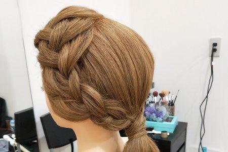 教學髮型示範