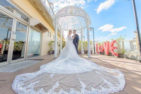 婚禮攝影-新竹華麗風采宴會館-景瀚&玫伶- 訂結婚午宴