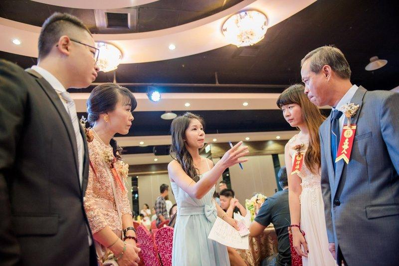 婚宴前彩排