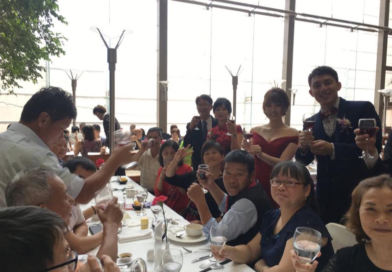 國賓八方燴自助吧西式婚宴