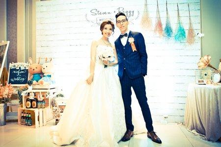 泓志與佩瑩婚禮
