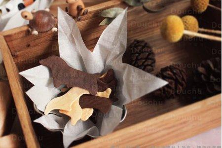 汪星人造型脆餅【桌上、二進、送客禮】