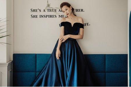 [禮服精選] 美式質感緞面-典雅浪漫