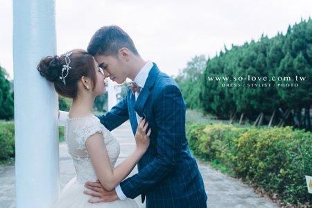 客製化婚紗-學生時代回憶-淡江大學