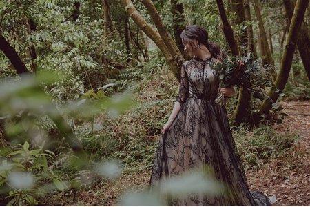[禮服精選] 歐式復古蕾絲