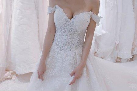 [禮服精選] 風格甜美的浪漫剪裁-閃耀全場