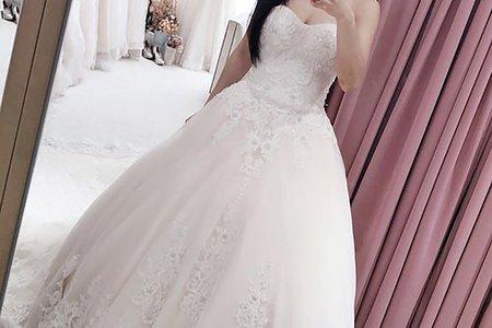[禮服精選] 童話般夢幻的經典白紗