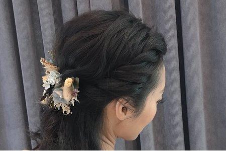小清新編髮