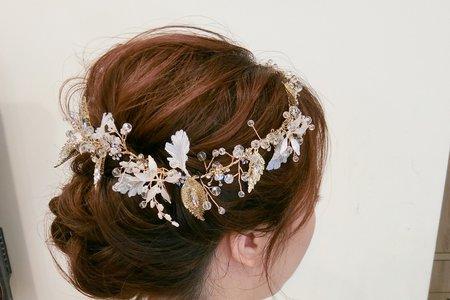 拍攝造型,東京新娘