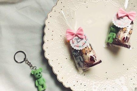 熊熊鑰匙圈棉花糖 16$