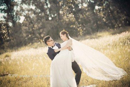 拍婚紗 訂結