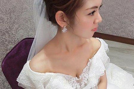 丁蘋蘋新娘秘書 -婚宴白紗造型