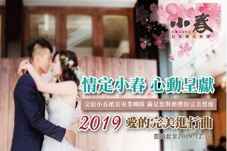 2019情定小春 愛的完美進行曲