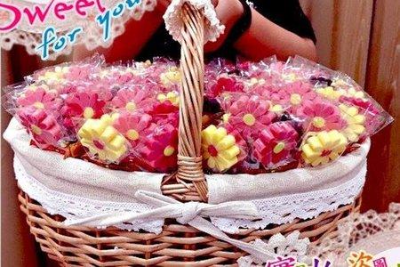 花兒巧克力(125支)大花籃組合