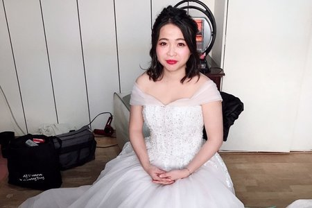 yuching苗栗訂婚單造型