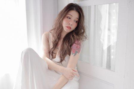 歐美雀斑妝x韓系清新感