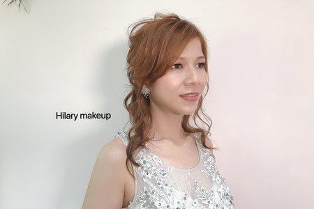 細軟髮抽絲線條造型