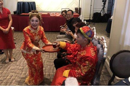 彥凱❤️紫璇 訂婚儀式