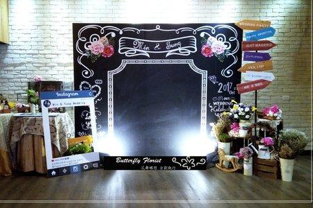 黑板 photo Booth
