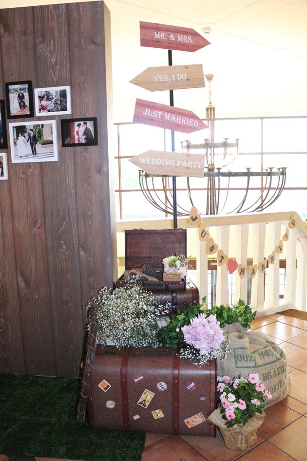背板區佈置物品租借-美式鄉村作品
