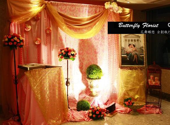 婚禮佈置道具出租-高腳花架作品