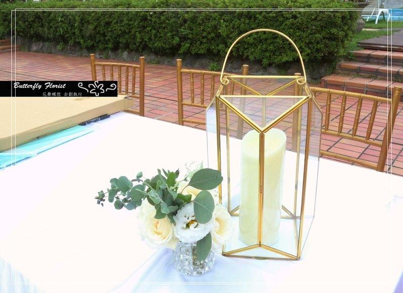 西式戶外庭園婚禮作品