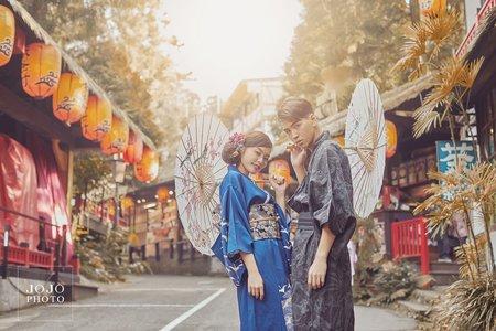 婚紗照|日式清新和服風