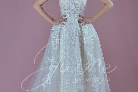 【禮服款式】Juine婚紗品牌-白紗