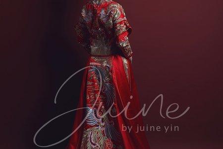 【禮服款式】Juine婚紗品牌-秀禾服