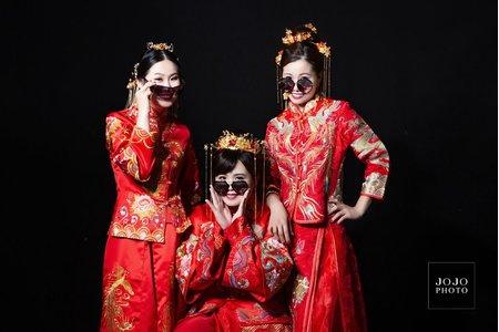 JOJO婚紗|中式禮服|藝術寫真|閨蜜