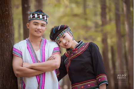 JOJO婚紗|原住民服飾|婚紗照|藝術寫真