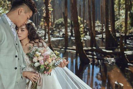 婚紗照|唯美森林風