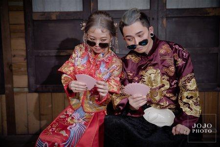 JOJO婚紗|和波俏皮結婚照💍|婚紗攝影|客照分享