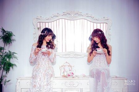 JOJO婚紗|是姊妹更是閨蜜!|閨蜜寫真|客照分享