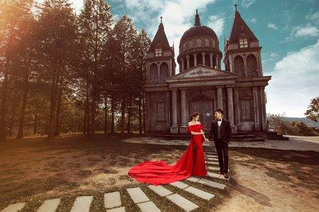 浪漫城堡 唯美巴洛克教堂 愛麗絲的天空