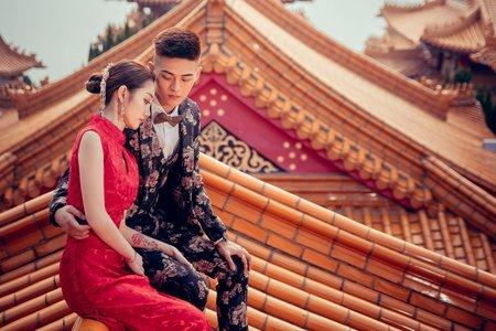 中式婚紗 新式傳統 現代復古