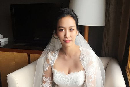 新娘秘書 婚宴現場造型