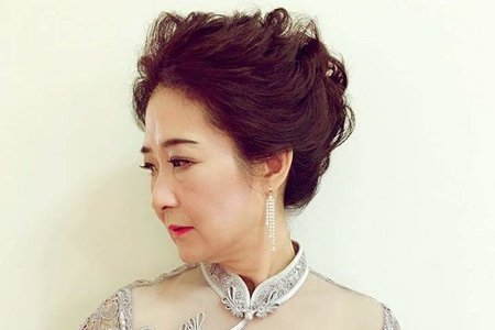媽媽妝髮作品