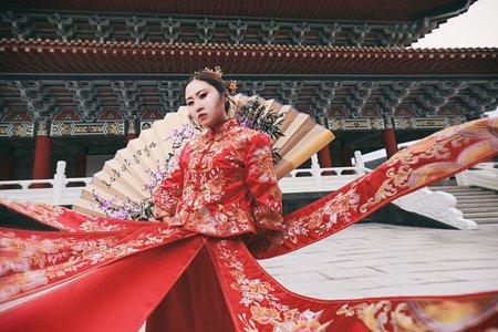 中式秀和服