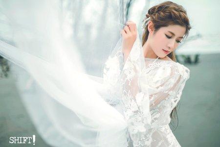 甜美性感婚紗寫真
