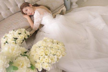 韓系簡約婚紗