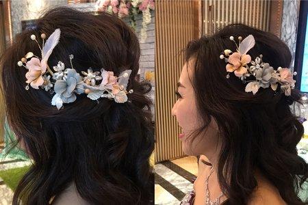 新娘造型Amy