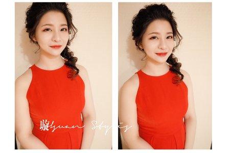 文定新娘/Hsuan 曉璇 /新娘秘書 /清新自然/精緻妝容