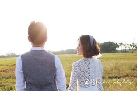 自助婚紗 / 造型師側拍 /曉璇 Hsuan 新娘秘書 / 精緻造型
