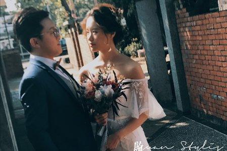 自助婚紗 / 造型師側拍 / 曉璇 Hsuan 新秘 / 精緻造型