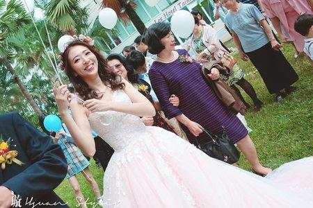 / 戶外證婚 / 婚宴 /新娘秘書 Hsuan曉璇 /精緻妝容 /自然風格