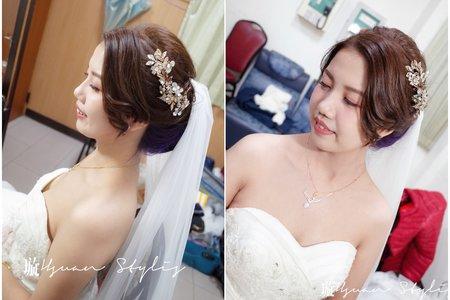 結婚晚宴 / 新秘 Hsuan 曉璇 / 精緻妝容 / 自然風格